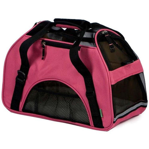 Bergan Comfort Carrier Soft-Sided Dog or Cat Carrier-CAT-Bergan-Pets Go Here airline, bergan, carrier, cat, cat carrier, fleece Pets Go Here, petsgohere