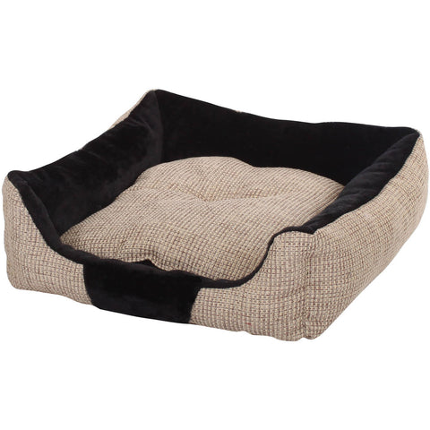 PILLOW NATURAL & BLACK-DOG-Slumber Pet-Pets Go Here