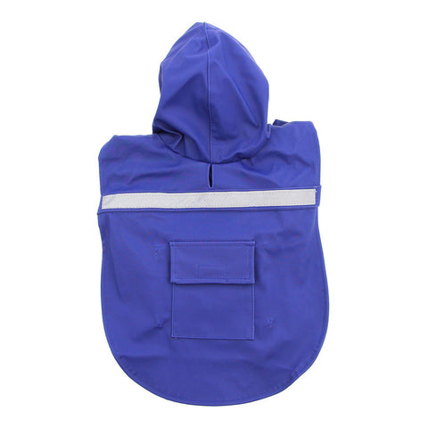 Guardian Gear Reflective Dog Rain Coat BLUE-DOG-Guardian Gear-SMALL-Pets Go Here blue, coat, guardian gear, jacket, l, m, rain, reflective, s, xl, xs Pets Go Here, petsgohere