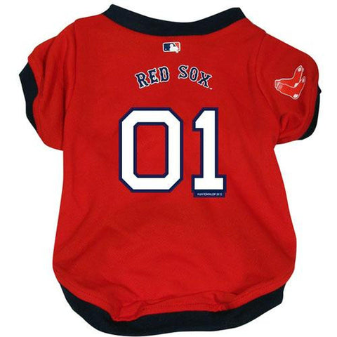 Boston Red Sox Dog Jersey-DOG-Hunter-SMALL-Pets Go Here