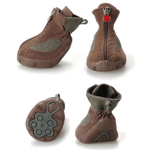 EPIKS Dog Hiking Boots Size 6-DOG-Pets Go Here-5-Pets Go Here accessories, boots, dog boots, paw, red, rubber, thermal Pets Go Here, petsgohere