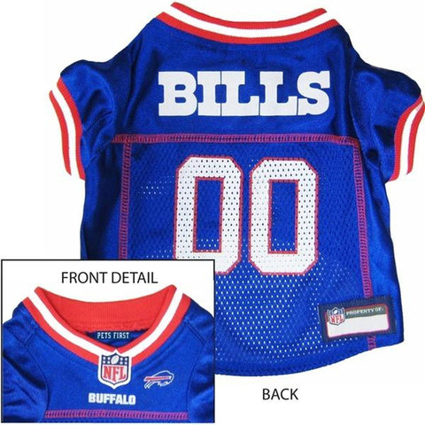 Buffalo Bills Dog Jersey 2-DOG-Pets First-SMALL-Pets Go Here db3bac030