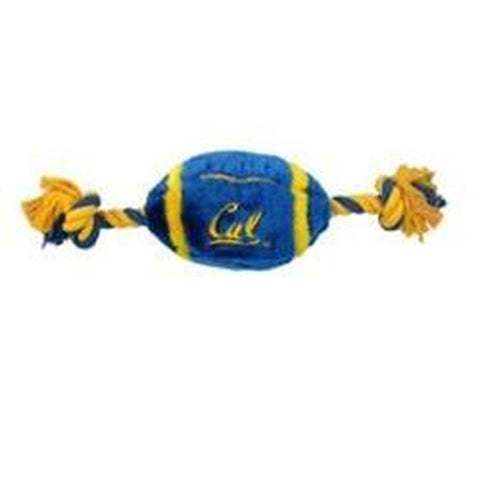 California Berkeley Plush Football Dog Toy-DOG-Pets First-Pets Go Here
