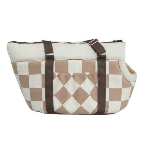 PetPals Pet Carrier Beige-CAT-PetPals-Pets Go Here