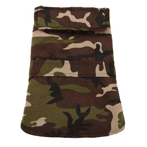 Casual Canine CAMO Barn Dog Coat GREEN-DOG-Casual Canine-XX-SMALL-Pets Go Here arctic camo, camo, casual canine, coat, dog coat, fleece, green, green camo, l, m, pink camo, s, xl, xs Pets Go Here, petsgohere