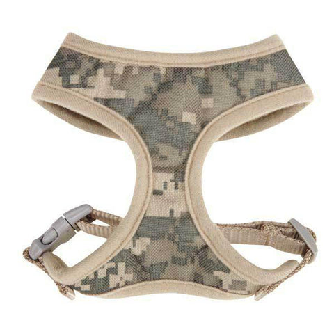 Casual Canine Digital CAMO Dog Harness X-SMALL-DOG-Casual Canine-Pets Go Here arctic camo, camo, casual canine, green, green camo, harness, l, m, m/l, pink camo, s, s/m, xl, xs Pets Go Here, petsgohere