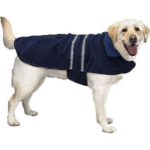 Casual Canine Reflective Dog Jacket-DOG-Casual Canine-X-SMALL-NAVY-Pets Go Here blue, casual canine, dog, fleece, green, jacket, navy, red, reflective, xxl Pets Go Here, petsgohere