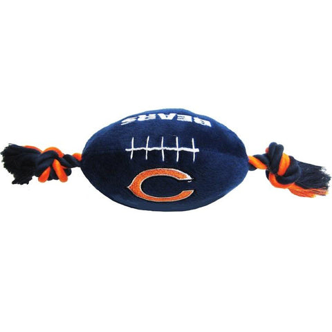 Chicago Bears Plush Dog Toy-DOG-Pets First-Pets Go Here