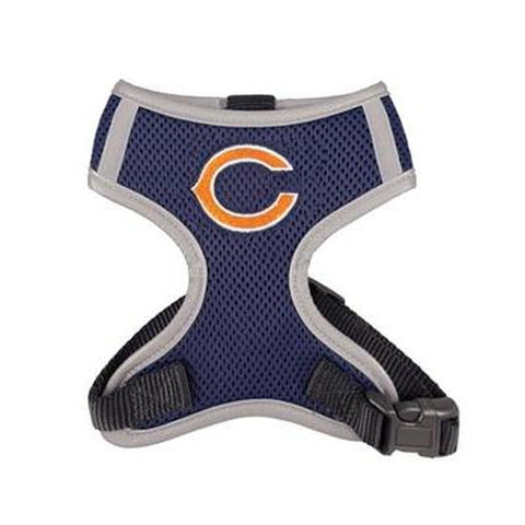Chicago Bears Dog Harness Vest-DOG-Hip Doggie-X-LARGE-Pets Go Here hip doggie, hunter, l, m, nfl, nfl harness, reflective, s, sports, sports harness, vest, xl, xs Pets Go Here, petsgohere