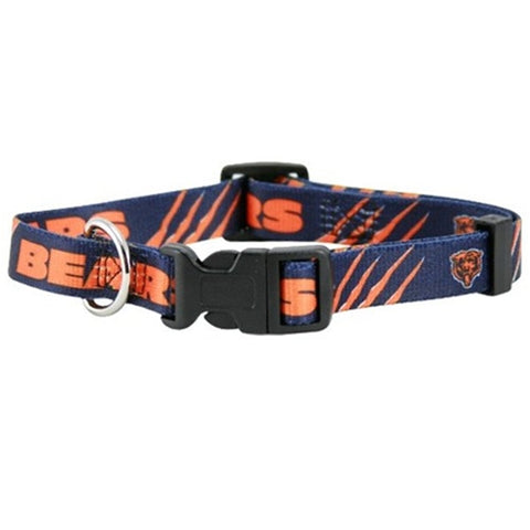 Chicago Bears Dog Collar-DOG-Hunter-XX-SMALL-Pets Go Here hunter, hunting, l, m, nfl, nylon, s, sports, sports collar, sports collars, xl, xs Pets Go Here, petsgohere