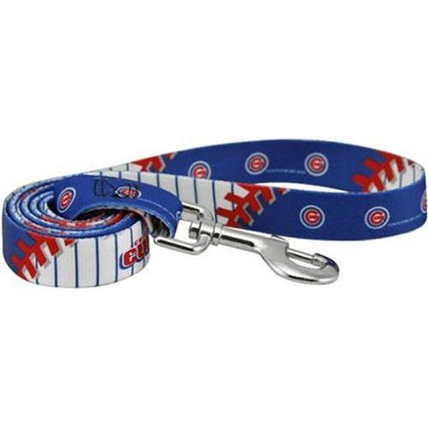 Chicago Cubs Dog Leash-DOG-Hunter-Pets Go Here 4 ft, hunter, mlb, sports Pets Go Here, petsgohere