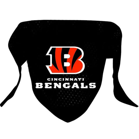 Cincinnati Bengals Dog Bandana-DOG-Hunter-Pets Go Here