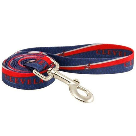 Cleveland Indians Dog Leash-DOG-Hunter-Pets Go Here 4 ft, hunter, sports Pets Go Here, petsgohere