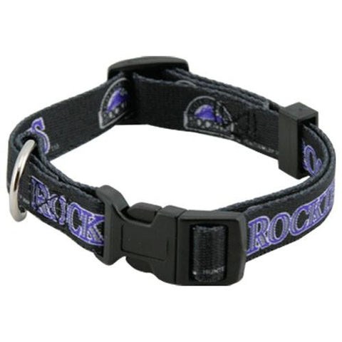 Colorado Rockies Dog Collar-DOG-Hunter-Pets Go Here hunter, hunting, mlb, nylon, sports, sports collar, sports collars Pets Go Here, petsgohere