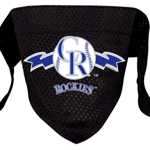 Colorado Rockies Mesh Dog Bandana-DOG-Hunter-SMALL-Pets Go Here