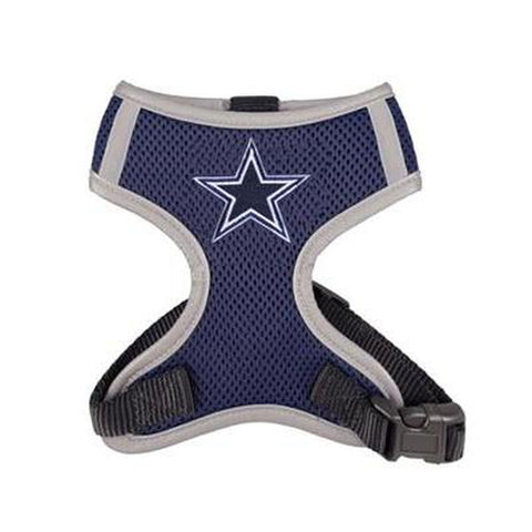 Dallas Cowboys Dog Harness Vest-DOG-Hip Doggie-X-LARGE-Pets Go Here