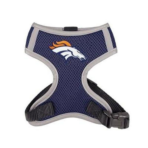 Denver Broncos Dog Harness Vest-DOG-Hip Doggie-X-LARGE-Pets Go Here