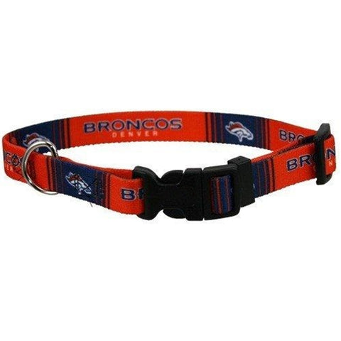 Denver Broncos Dog Collar-DOG-Hunter-SMALL-Pets Go Here hunter, l, m, s, xl, xs Pets Go Here, petsgohere