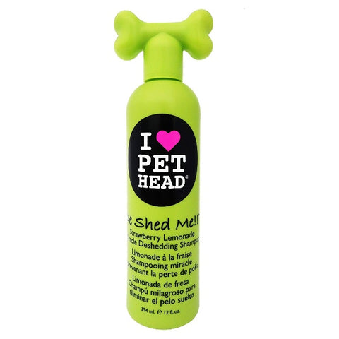 Pet Head De Shed Me!! Miracle Deshedding Shampoo 12 oz, amazon, cat, cat shampoo, deshedding, dog, shampoo, strawberry lemonade, usa Pets Go Here, petsgohere