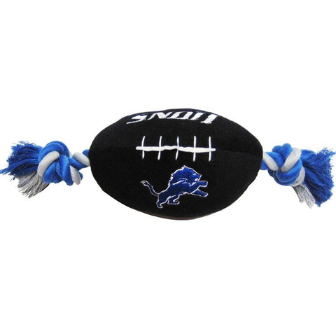 Detroit Lions Plush Dog Toy Football-DOG-Pets First-Pets Go Here
