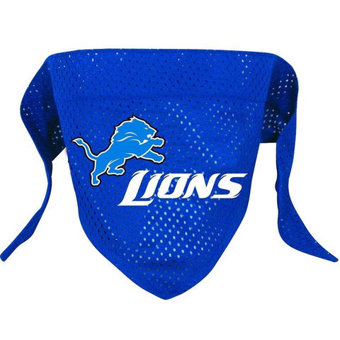 Detroit Lions Dog Bandana-DOG-Hunter-Pets Go Here