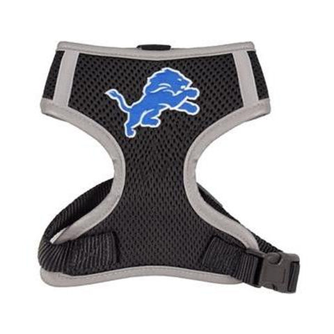 Detroit Lions Dog Harness Vest-DOG-Hip Doggie-X-LARGE-Pets Go Here