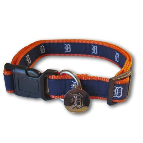 MLB Detroit Tigers Pet Collar Small