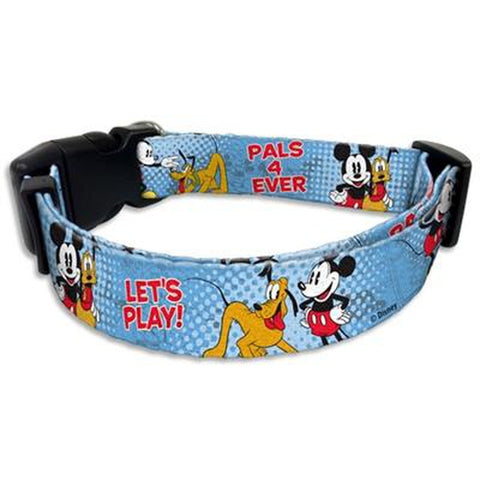 Disney Mickey Mouse Dog Collar-DOG-Howard Keys Company-8-12 In-Pets Go Here cartoon, character, disney, dog, dog collar Pets Go Here, petsgohere