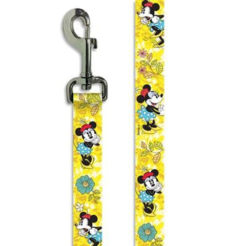 Disney Minnie Mouse Dog Leash 6'-DOG-Buckle Down-Pets Go Here 6 ft, cartoon, character, disney, fashionable, leash, movie, new, trendy, tv show Pets Go Here, petsgohere