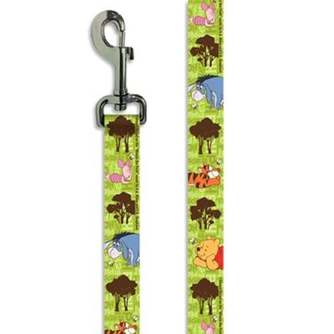 Disney Winnie the Pooh Dog Leash 6'-DOG-Howard Keys Company-Pets Go Here 6 ft, disney, leash, mirage Pets Go Here, petsgohere