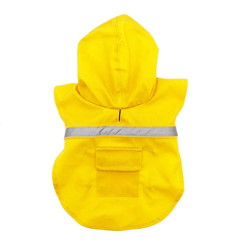 Guardian Gear Dog Raincoat Jacket w/ Reflective Stripe-DOG-Guardian Gear-XX-LARGE-Pets Go Here brite, guardian gear, hunting, jacket, l, rain, reflective, yellow Pets Go Here, petsgohere