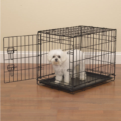 Easy Crate BLACK Dog Crate-DOG-Pets Go Here-Pets Go Here