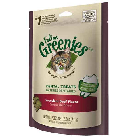 Feline Greenies Dental Cat Treats-CAT-Greenies-CATNIP-5.5 Oz-Pets Go Here