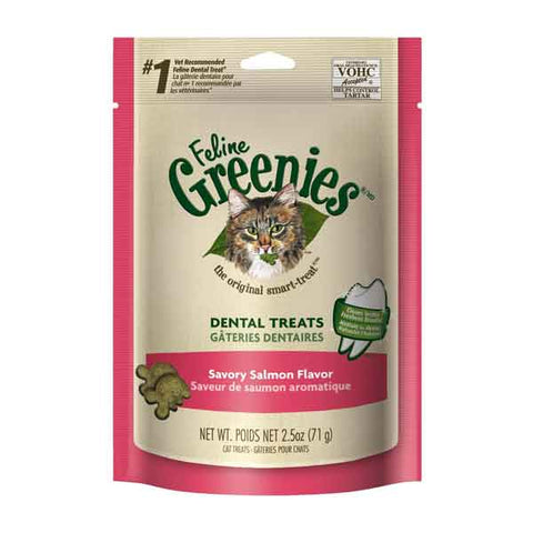 Feline Greenies Dental Cat Treats-CAT-Greenies-SALMON-2.5 Oz-Pets Go Here 5.5 oz., cat, cat treat, catnip, chewy, crunchy, dental treat, green, greenies, pet meds, pet supplements, salmon, treat, tuna Pets Go Here, petsgohere