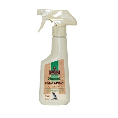 Natural Chemistry Flea Spray for Cats 8 fl. oz-CAT-Natural Chemistry-Pets Go Here flea, natural chemistry, natural flea and tick, tick Pets Go Here, petsgohere