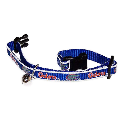 NCAA Florida Gators Breakaway Cat Collar cat collar sports, ncaa, ncaa cat collar, nylon, pet goods, reflective, sports, sports collar Pets Go Here, petsgohere