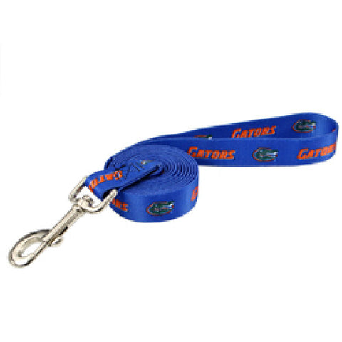Florida Gators Dog Leash-DOG-Pet Goods-Pets Go Here 4 ft, 6 ft, leash, nylon, pet goods Pets Go Here, petsgohere