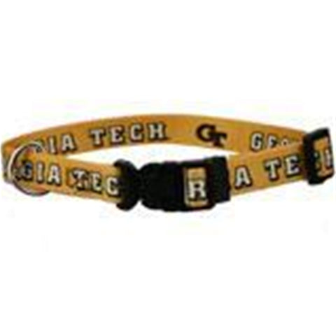 Georgia Tech Dog Collar-DOG-Hunter-Pets Go Here