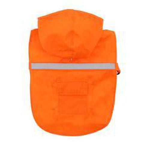 Guardian Gear Reflective Dog Rain Coat ORANGE-DOG-Guardian Gear-XX-LARGE-Pets Go Here coat, guardian gear, jacket, l, m, orange, rain, reflective, s, xl, xs Pets Go Here, petsgohere