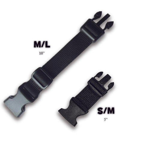 Multipurpose Dog Harness Strap Extender S/M 5""