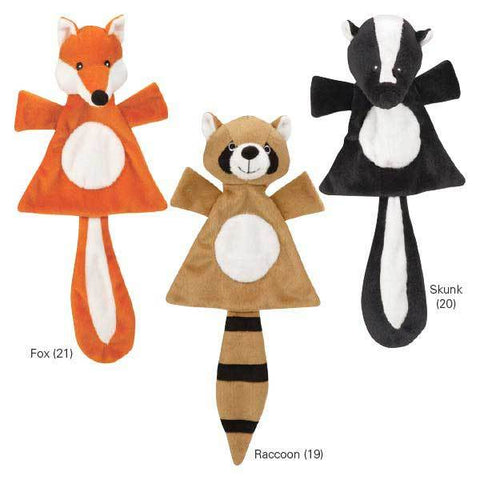 Unstuffies Forest Friend Dog Toy-DOG-Grriggles-RACCOON-Pets Go Here