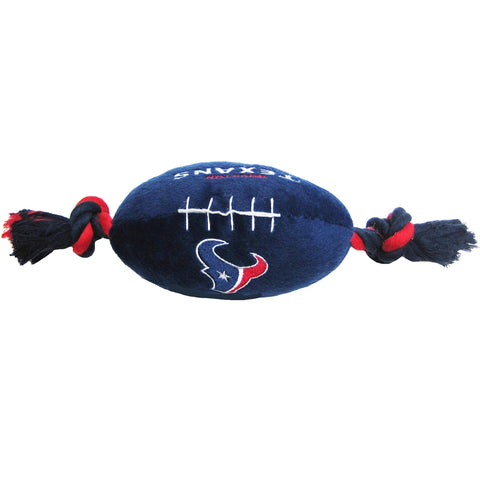 Houston Texans Plush Dog Toy Football-DOG-Pets First-Pets Go Here