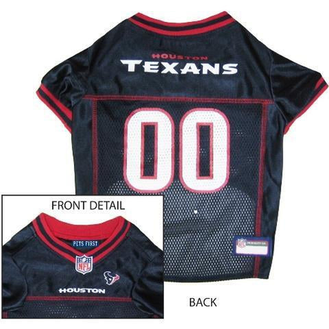 Houston Texans Dog Jersey 2-DOG-Hunter-MEDIUM-Pets Go Here doggienation, ds, hunter, l, m, nfl, s, test, xl, xs Pets Go Here, petsgohere