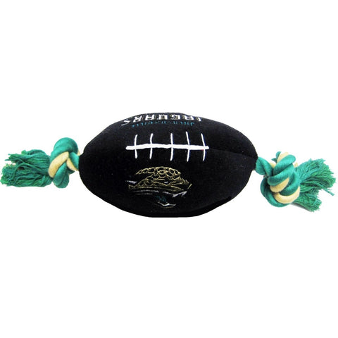 Jacksonville Jaguars Plush Dog Toy Football-DOG-Pets First-Pets Go Here doggienation, ds, pets first, sports, sports toys Pets Go Here, petsgohere