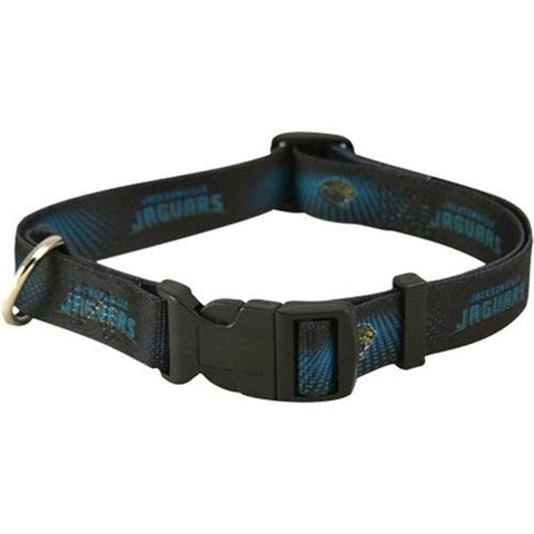 Jacksonville Jaguars Dog Collar-DOG-Pets First-LARGE-Pets Go Here l, m, nfl, nylon, pets first, s, sports, sports collar, test, xl, xs Pets Go Here, petsgohere