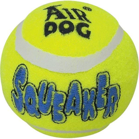 Kong Squeaker Tennis Ball Dog Toy-DOG-Kong-Pets Go Here air kong, ball, dog toy, fetch, kong, squeaker Pets Go Here, petsgohere