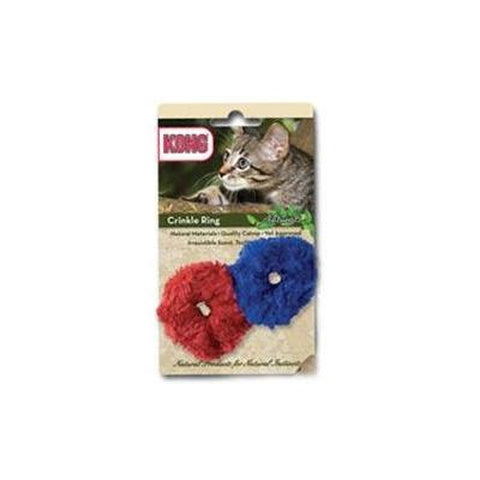 Kong Naturals Crinkle Ring Cat Toy-CAT-Kong-Pets Go Here