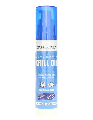 Dr. Mercola Antarctic Krill Oil for Pets