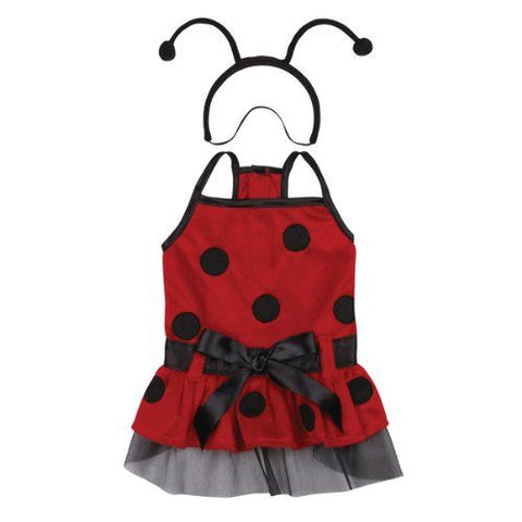 Casual Canine Lady Bug Dog Costume-DOG-Casual Canine-X-SMALL-Pets Go Here casual canine, costume, l, m, m/l, red, s, s/m, xl, xs, yellow Pets Go Here, petsgohere
