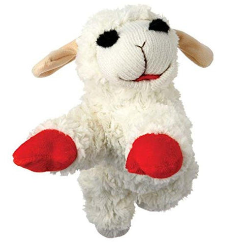 Lamb Chop Stuffed Animal Dog Toy-DOG-Multipet-SMALL-Pets Go Here dog toy, l, m, multipet, pet toy, red, s, toy, xl, xs Pets Go Here, petsgohere